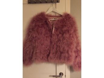 Feather jacket Dusty pink