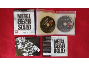 Metal Gear Solid Legacy Collection (PAL) till PlayStation 3 PS3