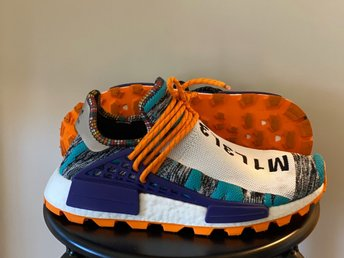 Adidas NMD Hu Pharell Williams solar pack orange