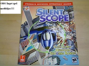 GUIDE TILL SILENT SCOPE TILL PLAYSTATION 2  DREAMCAST *NYTT*