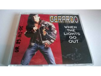 Gerardo - When The Lights Go Out, CD