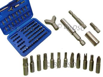 100 Pc Comprehensive Security Bit Set