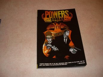Graphic Novel - Powers: Bureau 1