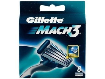 Gillette Mach3 Rakblad 8-pack - Gillette