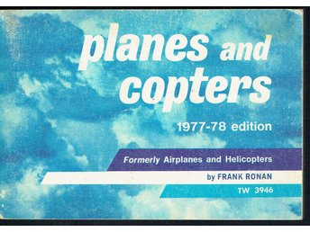 Planes and copters 1977-78 edition