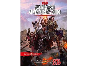 Dungeons & Dragons Sword Coast Adventure Guide 5th Edition (Inbunden)