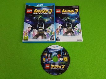 Lego Batman 3 Wii U Video game