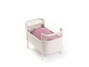 Smallstuff - Rosaline Doll Bed - Rose (51000-08)