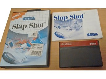 Sega Master System Slap Shot Near Mint