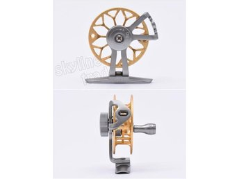 Flugfiskerulle ultra-light former ice fishing fly fishing reel CNC Machined 50 g