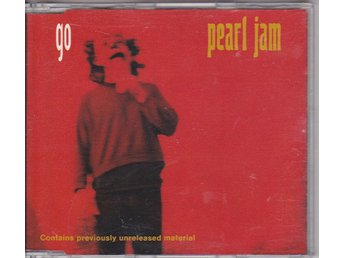 PEARL JAM: Go / Elderly Woman, Acoustic / Alone 1993 MAXI-CD