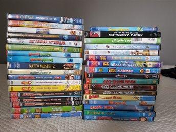 34 DVD 1 blu ray barnfilm barnfilmer - Halmstad - 34 DVD 1 blu ray barnfilm barnfilmer - Halmstad