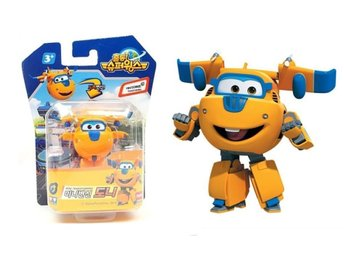 Super Wings Mini Transformer Donnie - Mästerflygarna ! Express leverans !