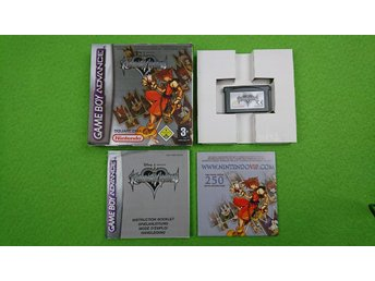Kingdom Hearts - Chain of Memories KOMPLETT Nintendo GBA