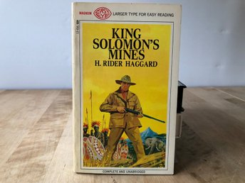 King Solomons Mines - H. Rider Haggard - Magnum 1968