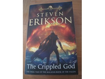 steven erikson  the crippled god- engelska
