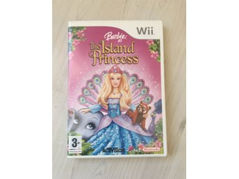Barbie As The Island Princess Wii Spel! NYSKICK! (40 KR UTROPSPRIS)
