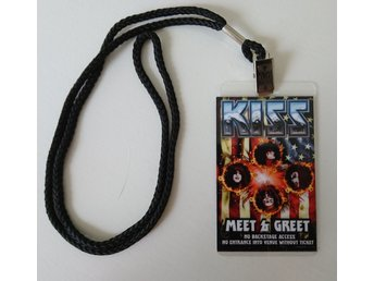 KISS Backstage pass 2015, 40 anniversary tour, meet and greet officiellt
