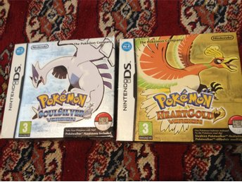 Pokemon Soulsilver+ Pokemon Heartgold + Pokewalkers