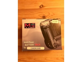 Multipower battery pack canon 550d batterigrepp