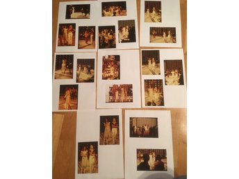 Abba fotografier real photos from German tv show 1978 Rare! Lot 2