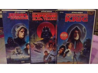 Star Wars Original Trilogin på VHS