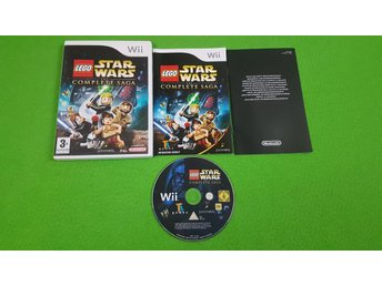 Lego Star Wars The Complete Saga Nintendo Wii