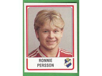 Panini Fotboll Sverige 1986 #243 Ronnie Persson Östers IF