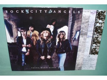 ROCK CITY ANGELS - Young man´s blues , RARE 2LP 1988 ,