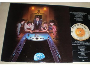 Wings Lp Back To The Egg 1979 VG++