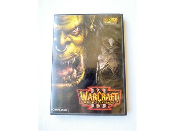 WARCRAFT 3 Reign of Chaos - PC/MAC CD-ROM