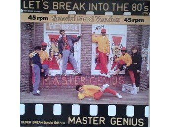 Master Genius  titel*  Let's Break Into The 80's* Electro, Synth-pop, Disco 12