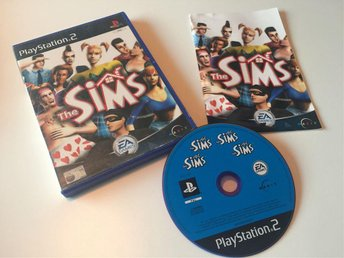 Playstation 2 PS2 The Sims CIB