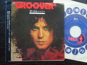 T REX- The groover  Odeon  Japan -73 singel med insert