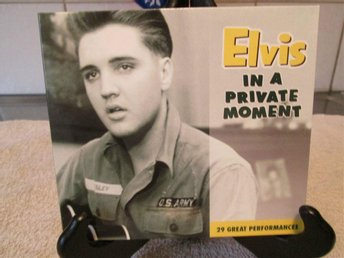 ELVIS PRESLEY - IN A PRIVATE MOMENT  FTD-UTGÅVA 2000, POP, ROCKABILLY, COUNTRY