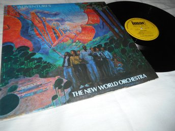 New World Orchestra - Adventures (LP) Norge NM/VG+