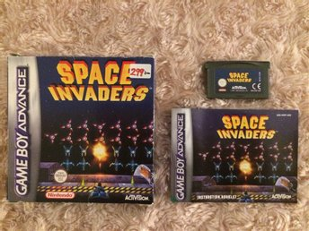 SPACE INVADERS (GBA/EUR)