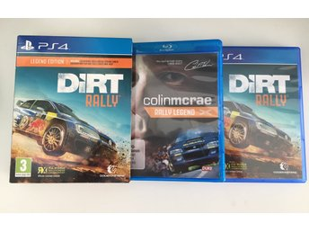DiRT Rally - Legend Edition PS4