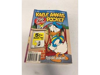 Kalle Ankas Pocket Nr. 177 Typiskt Joakim! - Månsarp - Kalle Ankas Pocket Nr. 177 Typiskt Joakim! - Månsarp