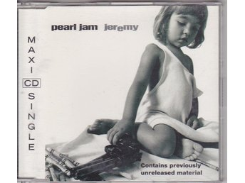 PEARL JAM: Jeremy / Footsteps /Yellow Ledbetter 1992 MAXI-CD
