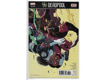Deadpool Volume 4 # 34 NM Ny Import