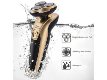 Men's Rechargeable Electric Shaver Tr...