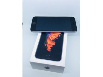 iPhone 6S • 64GB • Space Grey • Olåst • Fint skick
