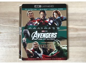 The Avengers: Age of Ultron  4K slipcover (BARA SLIPCOVER)