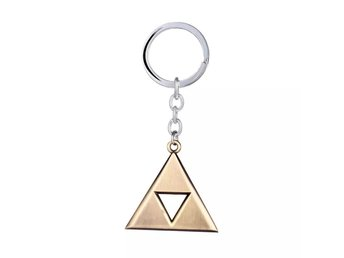 Nyckelring TriForce Zelda i metall