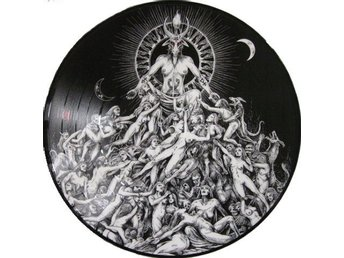 Archgoat ‎–The Luciferian Crown pic disc 2018 Black meta OOP