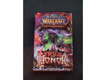 World of Warcraft TCG Kort - Fields of Honor Booster Pack