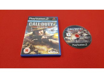 CALL OF DUTY 2 till Sony Playstation 2 PS2