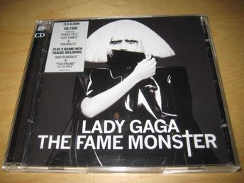 LADY GAGA - THE FAME MONSTER. DUBBEL-CD!