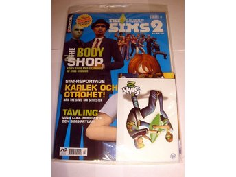 PC GAMER SPECIAL  HELT NY   THE SIMS 2  mm. I ORIGINALPLAST